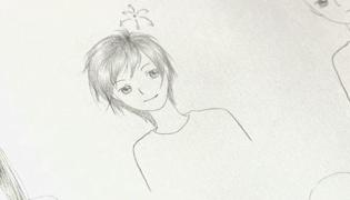 短发女孩怎么画