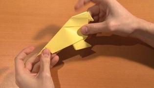 幼儿折纸小鸟
