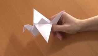 飞鹤怎么折