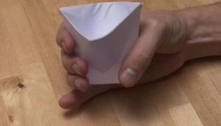 怎么折纸杯