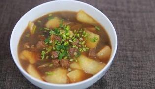牛肉燉蘿卜的做法