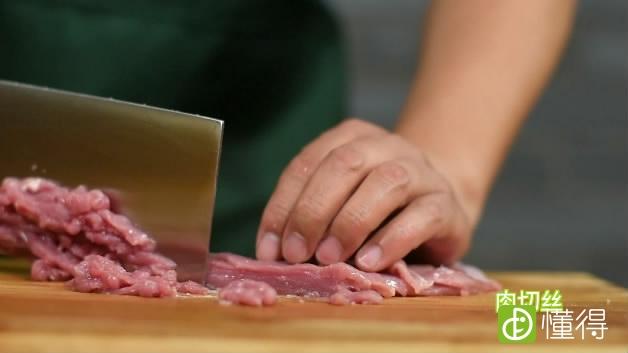 京酱肉丝的做法-肉切丝