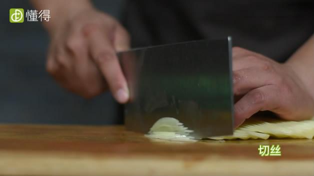 酸辣土豆丝的做法-土豆切丝