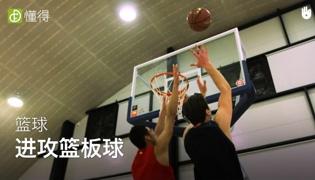 篮球进攻战术Ⅶ:进攻篮板球