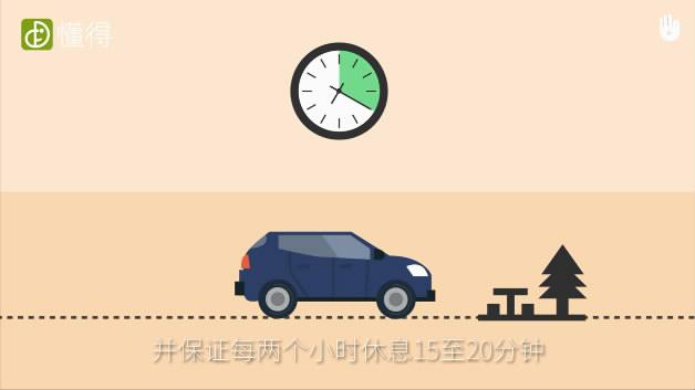 交通安全:驾驶前须知-不要疲劳驾驶