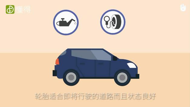 交通安全:驾驶前须知-开车前做好检查准备