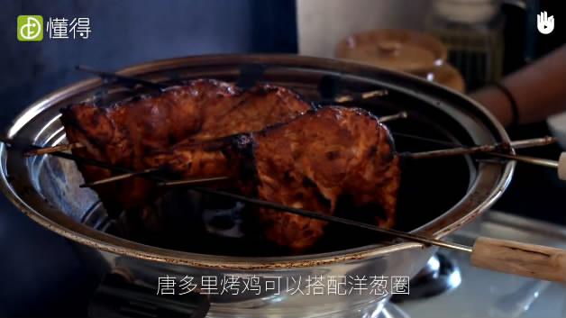 唐多里烤鸡的做法-烤鸡完成