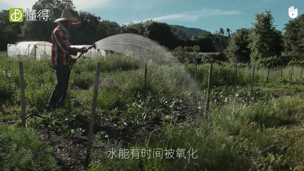 栽培技术:农业灌溉软管-水有时间被氧化