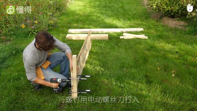 栽培技术:自制种植槽-钉上螺丝钉