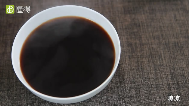 糖蒜的腌制方法-料汁晾凉