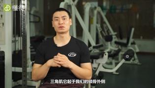 三角肌锻炼方法