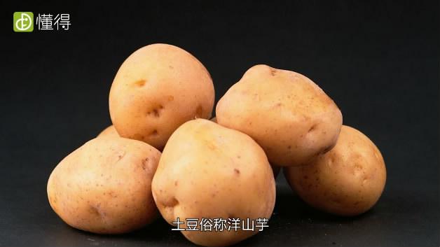 土豆的功效与作用-俗称洋山芋